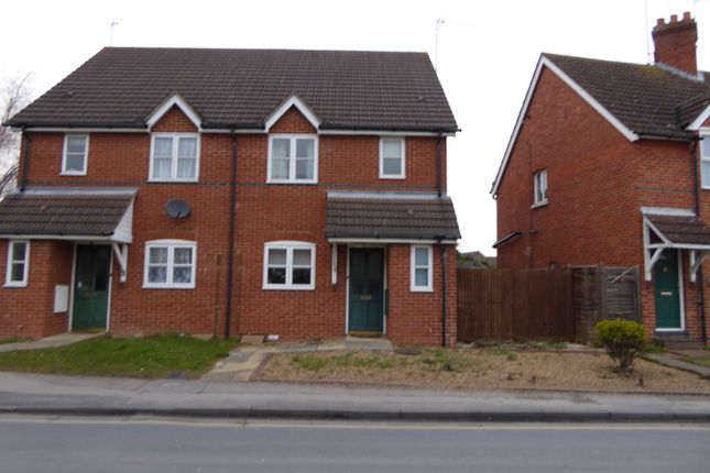 Thumbnail Semi-detached house to rent in Headley Road, Woodley, Reading
