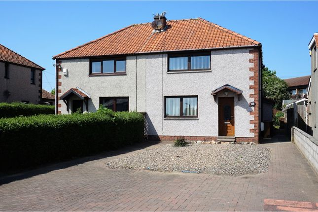 Thumbnail Semi-detached house for sale in Arbroath Road, Dundee
