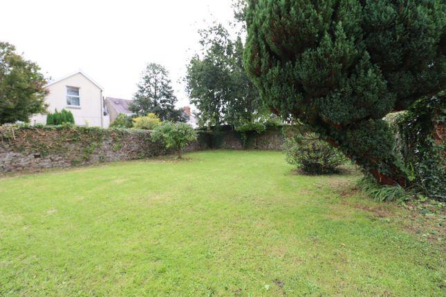 Rear Garden of Picton Place, Carmarthen SA31