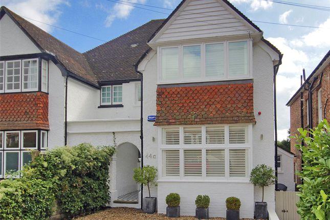Thumbnail Semi-detached house for sale in Woodbury Park Road, Tunbridge Wells, Kent