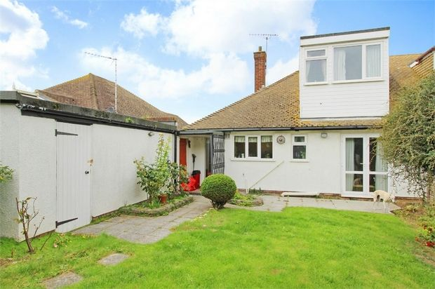 Thumbnail Semi-detached bungalow for sale in Capel Close, Broadstairs