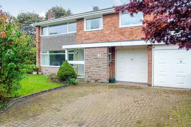 Thumbnail Detached house for sale in The Spinney, Morpeth