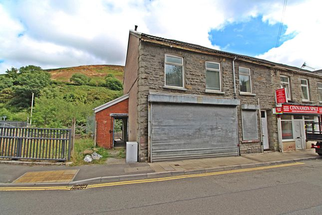 Front External of Llewellyn Street, Pontygwaith, Ferndale, Rhondda Cynon Taff CF43