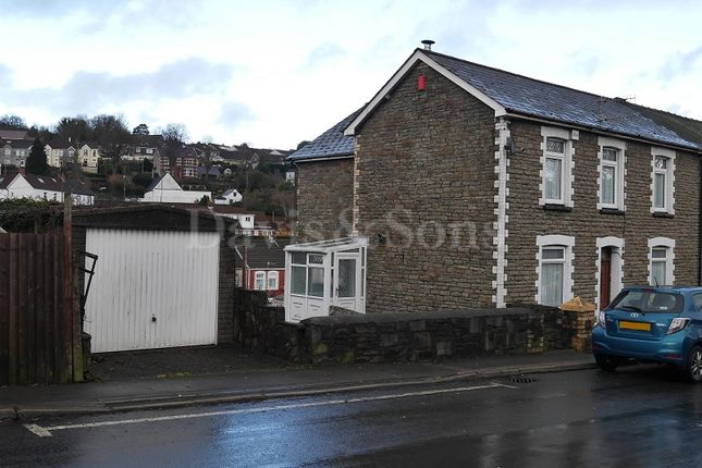 Thumbnail Semi-detached house for sale in High Street, Newbridge, Newport.