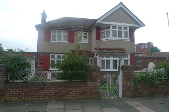 Thumbnail Detached house for sale in Ryecroft Avenue, Whitton, Twickenham