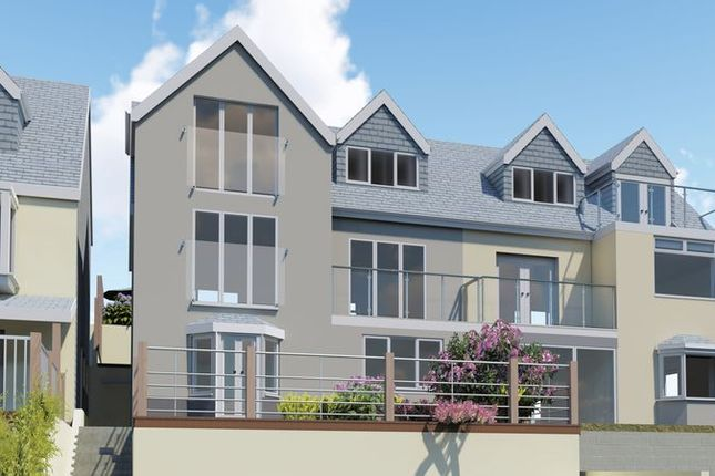 Thumbnail Maisonette for sale in Downs View, Looe