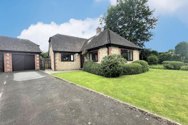 Thumbnail Detached bungalow for sale in Shephards Close, Child Okeford, Blandford Forum