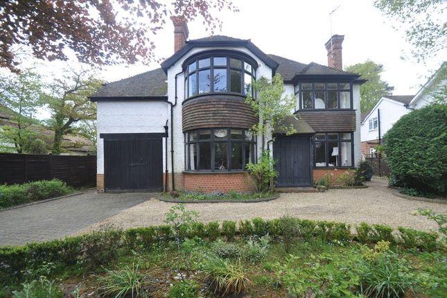Thumbnail Detached house for sale in Wellington Avenue, Fleet