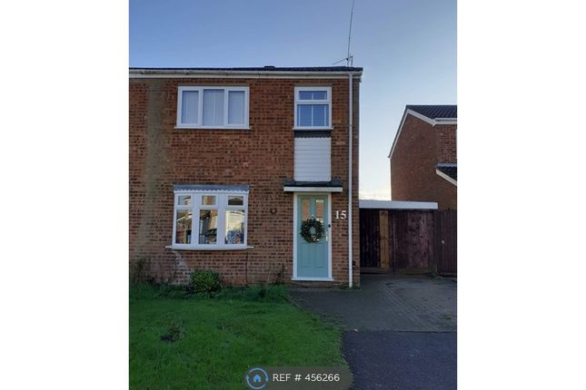 Thumbnail Semi-detached house to rent in Mauduit Road, Milton Keynes