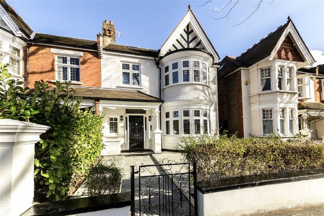 Thumbnail Flat for sale in West Lodge Avenue, London
