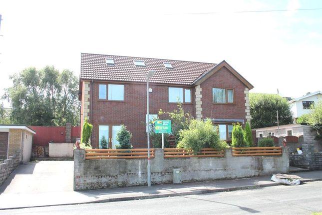 Thumbnail Detached house for sale in Heol Fach, Llangyfelach, Swansea