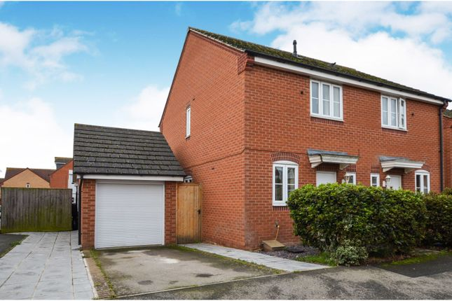 Thumbnail Semi-detached house for sale in Hatfield Close, Oakley Vale, Corby