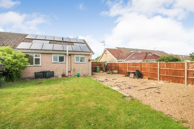 Thumbnail Semi-detached bungalow to rent in High Road, Wortwell, Harleston