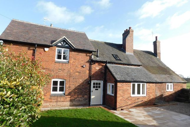 Thumbnail Semi-detached house to rent in Ashby Road, Ticknall, Derbyshire