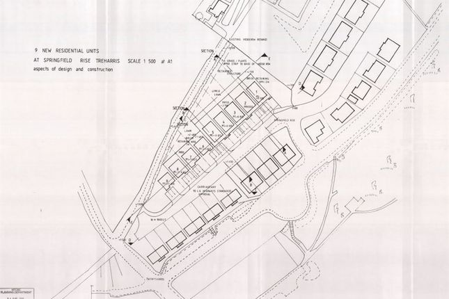 Thumbnail Land for sale in Springfield Rise, Treharris