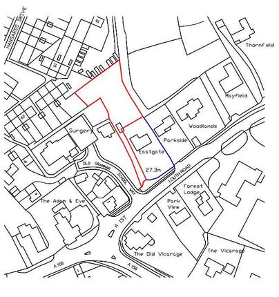 Thumbnail Land for sale in Land Behind Eastgate, Louth Road, Wragby, Market Rasen
