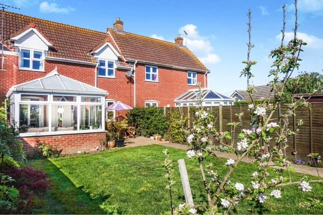 Thumbnail 2 bed terraced house for sale in Skinners Close, Metfield, Harleston
