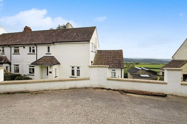 Thumbnail Semi-detached house for sale in New Close, West Horrington, Wells