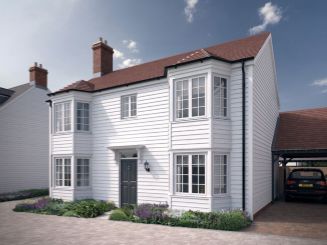 Thumbnail Detached house for sale in The Winchelsea, Church View, Recreation Ground Road, Tenterden, Kent