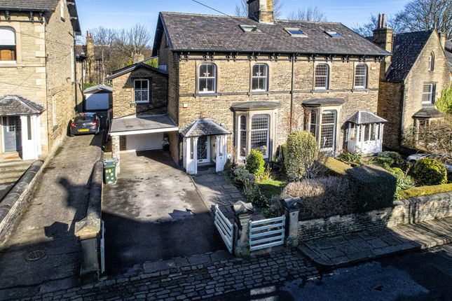 Thumbnail Semi-detached house for sale in Imperial Road, Edgerton, Huddersfield