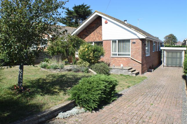 Thumbnail Detached bungalow for sale in Firle Road, Telscombe Cliffs, Peacehaven