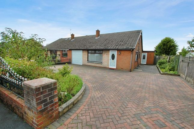 Thumbnail Semi-detached bungalow for sale in Kennedy Drive, Little Lever, Bolton
