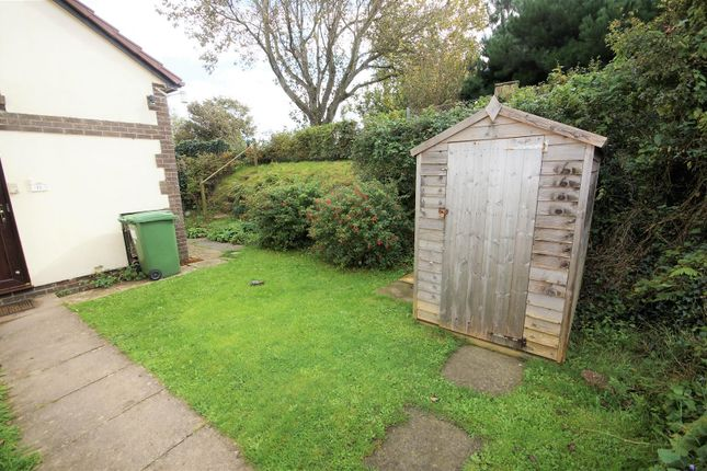 Rear Garden of West Moor Way, Northam, Bideford EX39