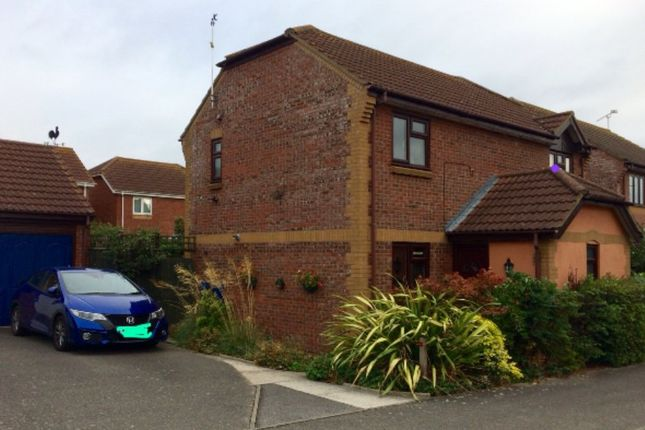 Thumbnail Detached house for sale in Ruskin Close, Stowmarket