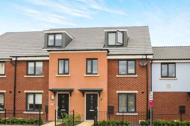 Thumbnail Town house for sale in Mallard Way, Sprowston, Norwich