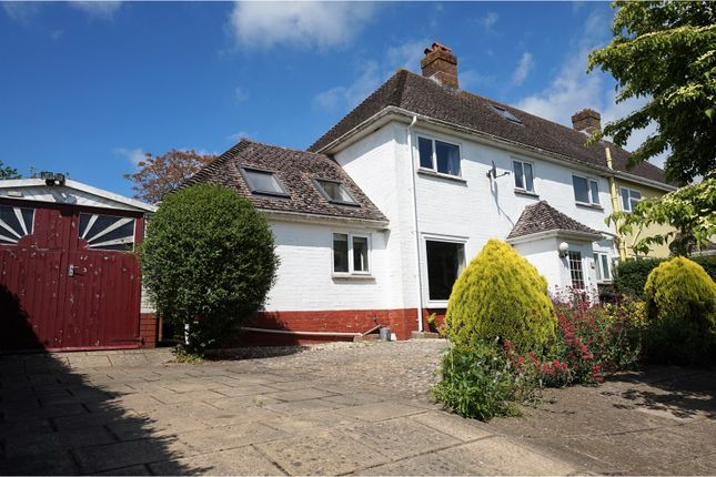 Thumbnail Semi-detached house for sale in Catherines Well, Milton Abbas, Blandford Forum