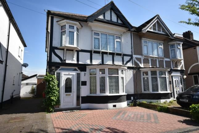 Thumbnail Semi-detached house for sale in Dellwood Gardens, Clayhall, Ilford