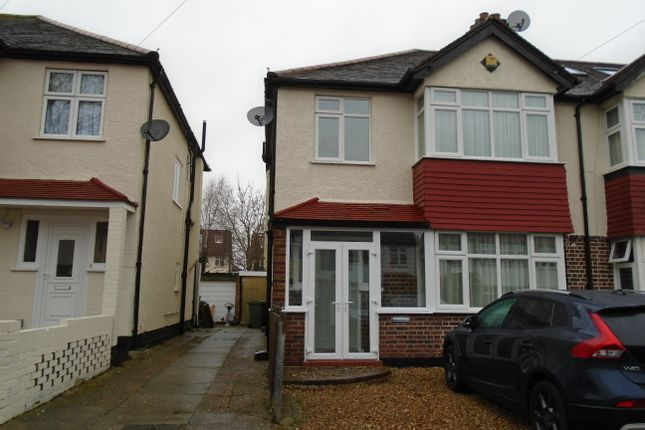 Thumbnail Semi-detached house to rent in Watson Avenue, Sutton