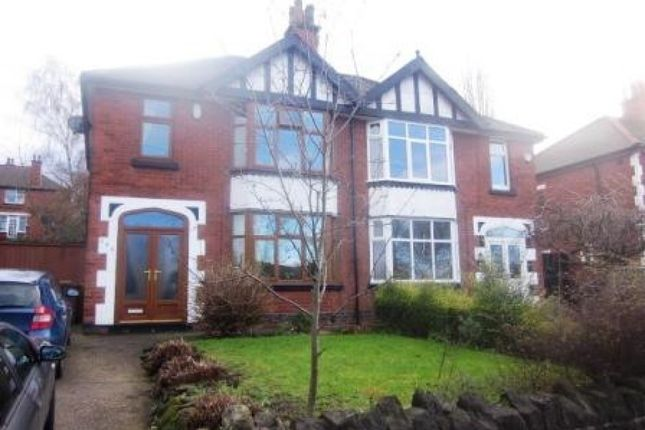 Thumbnail Semi-detached house to rent in Valley Road, Sherwood, Nottingham