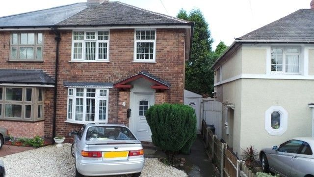 Thumbnail Semi-detached house for sale in Rough Road, Kingstanding, Birmingham