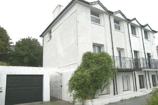 Thumbnail Semi-detached house to rent in Marine Gardens, Milford Haven, Pembrokeshire.