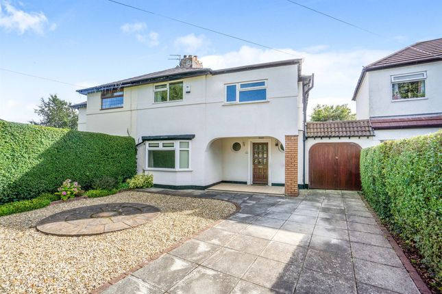 Thumbnail Semi-detached house for sale in Sparks Lane, Heswall, Wirral