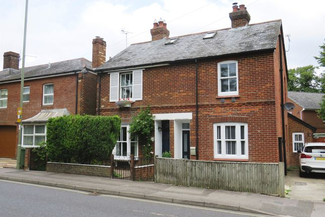 Thumbnail Semi-detached house for sale in Alresford Road, Winchester