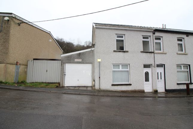 Thumbnail End terrace house for sale in Glandwr Street, Aberbeeg, Abertillery