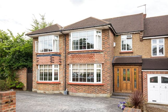 Thumbnail Semi-detached house for sale in South Lodge Drive, Southgate, London