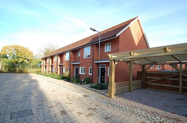 Thumbnail End terrace house to rent in Ruttle Close, Cholsey, Wallingford