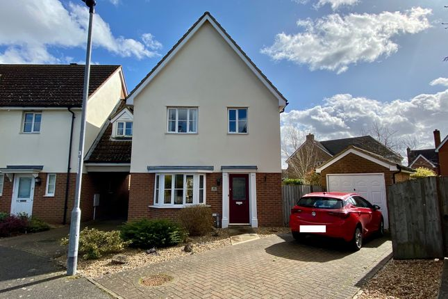 Thumbnail Link-detached house for sale in Strympole Way, Highfields Caldecote, Cambridge