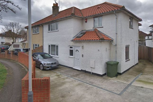 Thumbnail End terrace house to rent in Crossway, Hayes