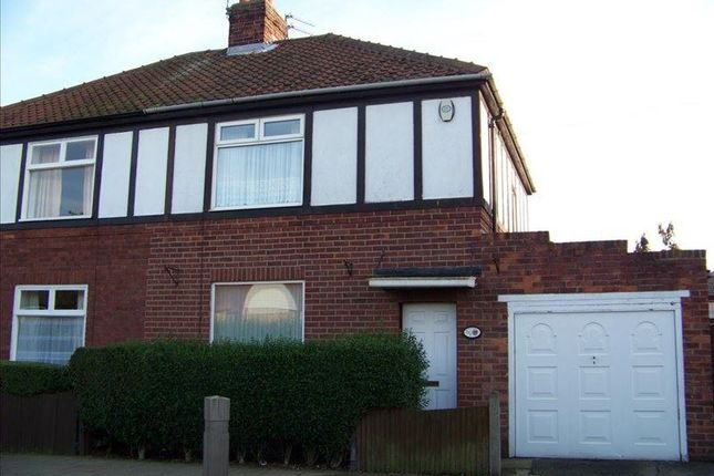 Thumbnail Semi-detached house to rent in Disraeli Street, Blyth