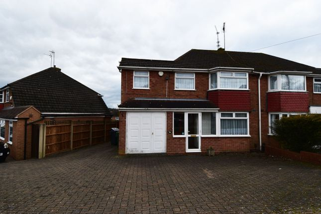 Thumbnail Semi-detached house to rent in Clent Road, Rednal, Birmingham