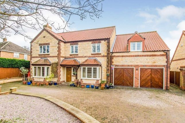 Thumbnail Detached house for sale in Ermine Street, Ancaster, Grantham