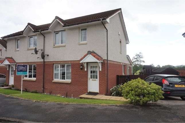 Thumbnail Semi-detached house to rent in Cragganmore, Alloa