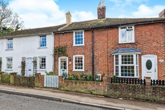 Thumbnail 2 bed terraced house for sale in Shalmsford Street, Chartham, Canterbury, Kent
