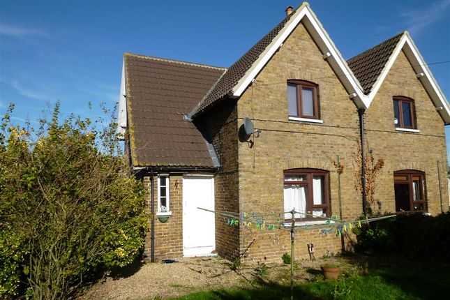 Thumbnail Semi-detached house to rent in Sheerness Road, Lower Halstow