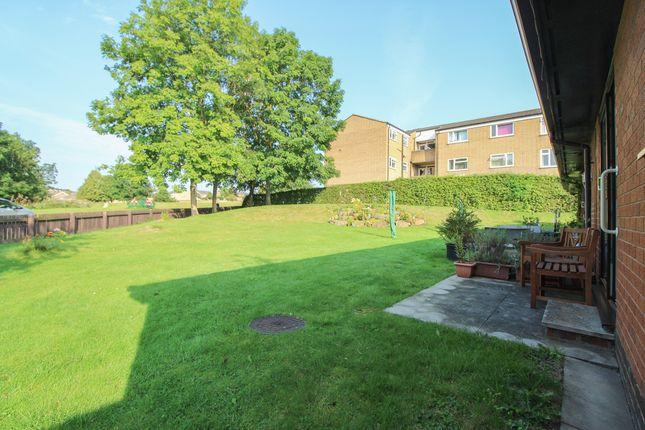 Rear Garden of Rednall Close, Holme Hall, Chesterfield S40