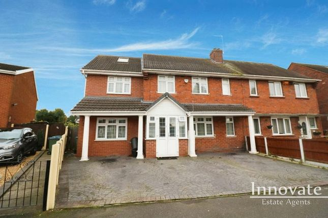 Thumbnail Semi-detached house for sale in Lower Chapel Street, Tividale, Oldbury